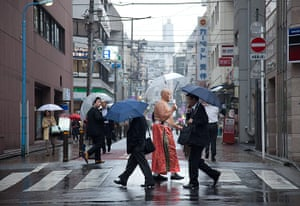 Big Picture: Sumo: Hoshitango Imachi, 44, an Argentinean who moved to Tokyo when he was 21