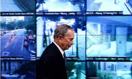 Bloomberg with NYPD surveillance