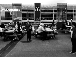 In the middle of the Olympic park is world's biggest McDonalds.