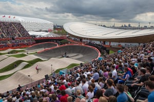 BMX: Packed house at the BMX track