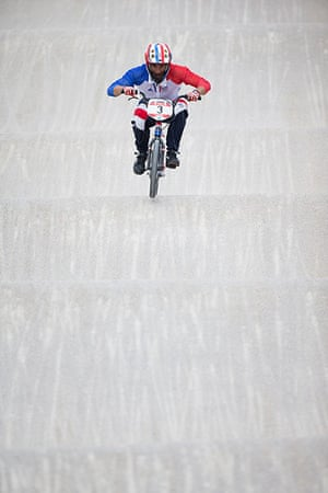BMX: Moana Moo Caille of France rides the bumps