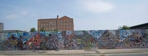 Manchester lomo wall