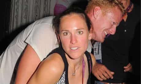 Olympic athletes party: Sophie Hosking at Chinawhite nightclub