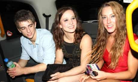Olympic athletes party: Max Whitlock leaving Chinawhite