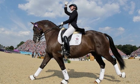 Charlotte Dujardin Gold For The Woman Who Could Make A Donkey Dance