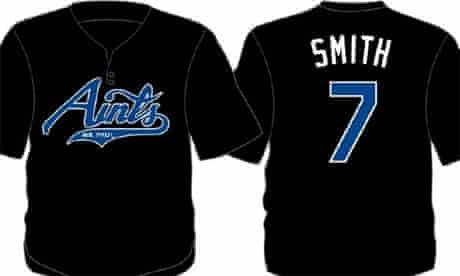 St Paul Saints atheist-sponsored baseball shirts