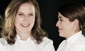 Angela Hartnett and Suzanna Kean