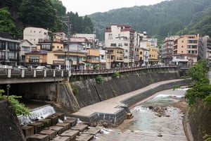 Soma, Japan: The town of Tsuchiyu Onsen has plans to install a geothermal plant