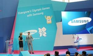 Samsung, Olympics sponsor