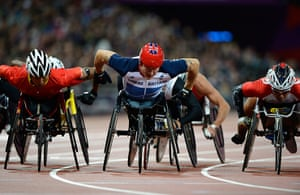 athletics: David Weir
