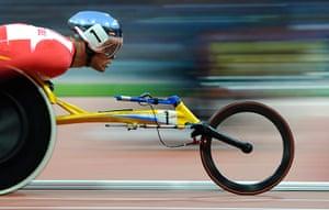 athletics: Marcel Hug
