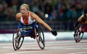 athletics: Hannah Cockroft