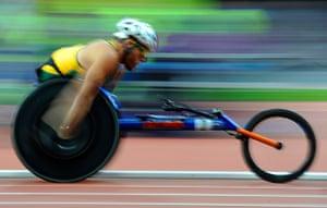 athletics: Kurt Fearnley