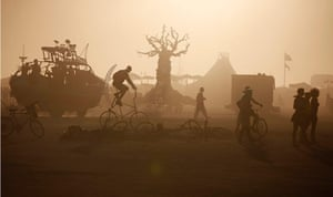 Burning Man: REUTERS PICTURE HIGHLIGHT