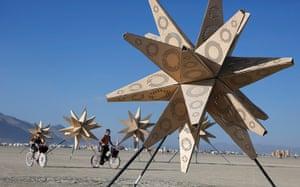 "Burning Man: An art installation at the Burning Man 2012 ""Fertility 2.0"""
