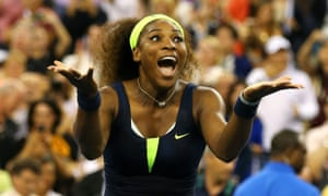 Serena Williams wins the US Open 2012