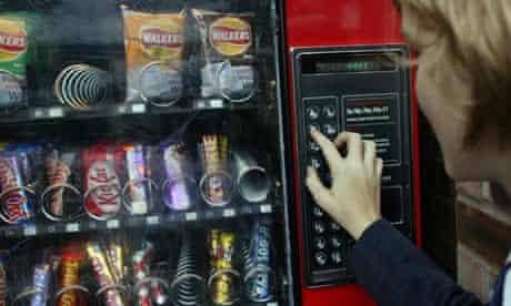 School vending machine