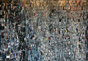 24 hours: Tokyo, Japan: An electronics shop with more than 6,000 mobile phones