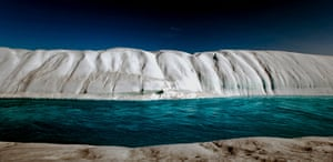The Cold Edge: Melt River, Petermann Glacier, Greenland