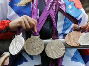 ...and here are her medals!