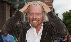 Virgin head Sir Richard Branson