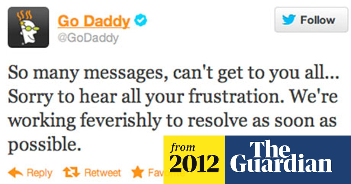 GoDaddy: thousands of websites down after domain registrar hacked