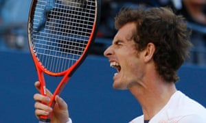 Andy Murray: annoyed