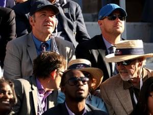 Kevin Spacey, Murray v Djokovic