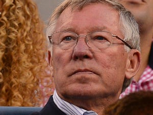 Alex Ferguson open