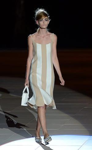 Marc Jacobs Spring 13: Models display creations by designer Mar