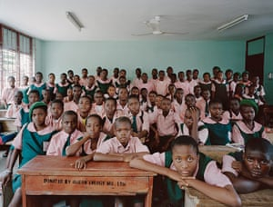 World Classrooms: School Kuramo Junior College, Victoria Island, Lagos, Nigeria