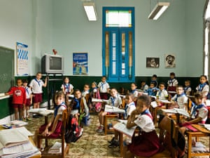 World Classrooms: School Escuela Primaria Angela Landa, Old Havana, Cuba