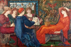Pre-Raphaelites: Edward Coley Burne-Jones, Laus Veneris 1873-1878