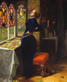 Pre-Raphaelites: John Everett Millais, Mariana 1851