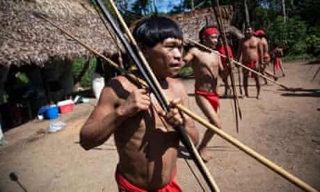 yanomami tribe in venezuela