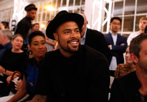 new york fashion week: Tyson Chandler
