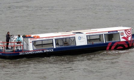 Water Chariots barge