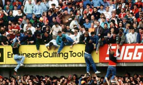 Hillsborough on 15 April 1989