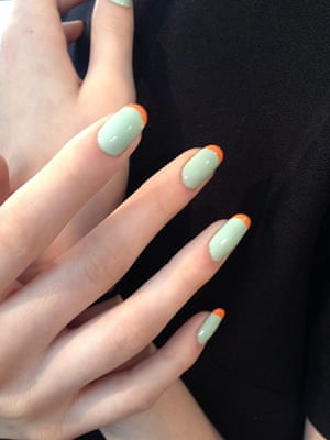Top 5 NYFW: Peter Som French manicures NYFW