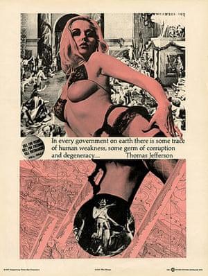 Punk Graphics: Berkeley Situationist poster by WM. Weege, circa 1967