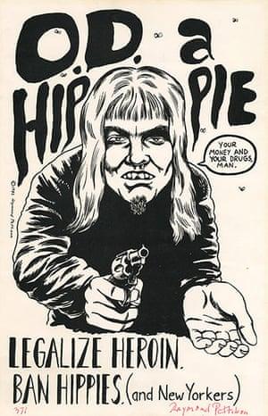 Punk Graphics: Raymond Pettibon poster art, Los Angeles, California, 1982