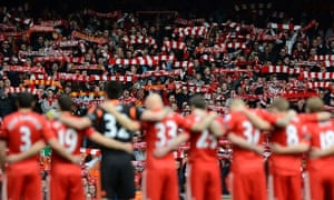 Liverpool players and fans observe a minute's silence to mark the 23rd anniversary of the Hillsborough disaster.