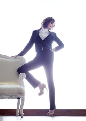 Elizabeth McGovern: trousers by Band of Outsiders