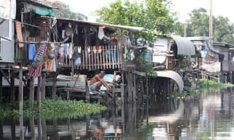 World Water Day at Bang Bua slum community in Bangkok.