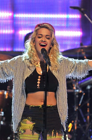 Jools Holland: Rita Ora on 'Later with Jools Holland'