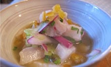 The Last Days of Pisco recipe ceviche