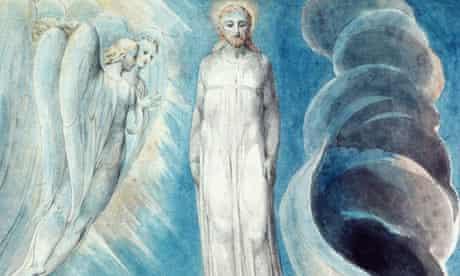 <The Third Temptation> by William Blake