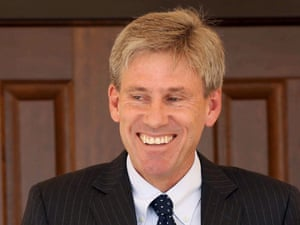 US Ambassador to Libya Christopher Stevens in an undated photo made available on 12 September 2012.