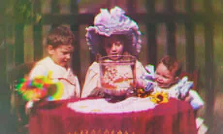 Footage from 1901 colour film, at Bradfrod Media Museum