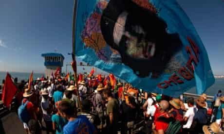 Andalusian Union of Workers protest at austerity measures